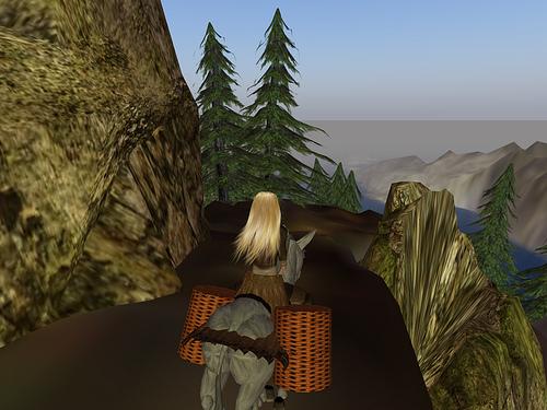 Jenni reitet nach Kalidamo