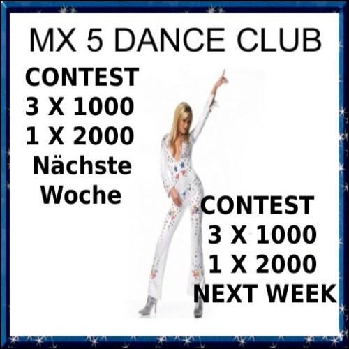 Die $5000 Contestwoche im MX-5 Club